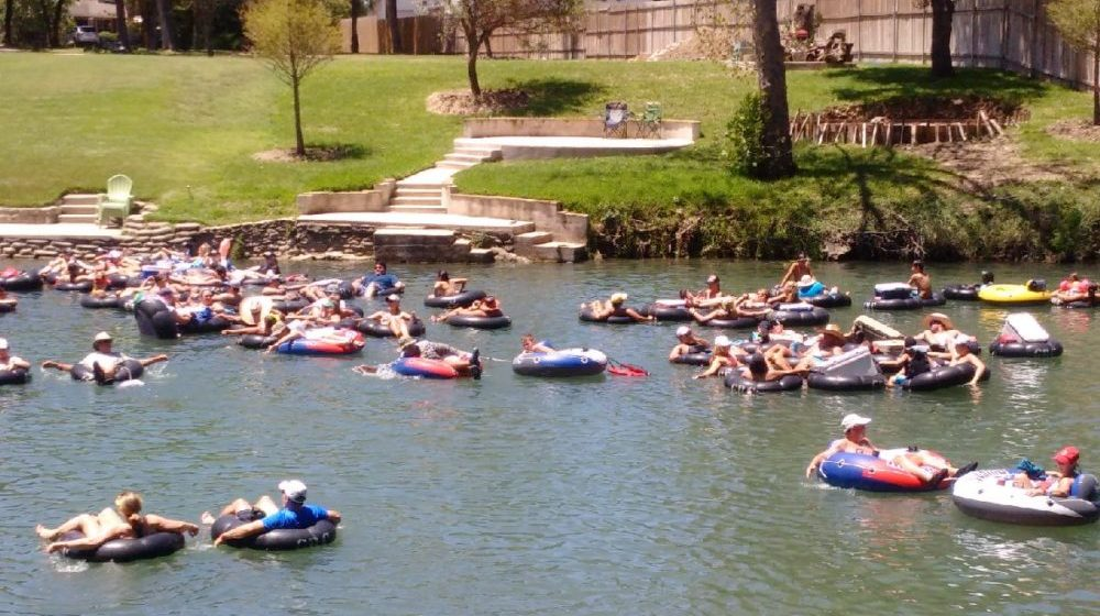 Join the Toobers on the Guadalupe River.